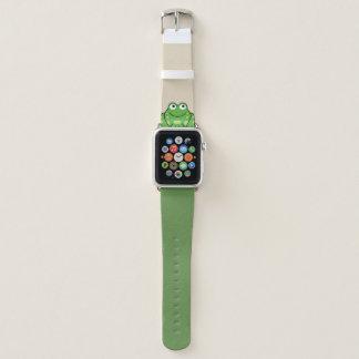 Bracelet Apple Watch Grenouille