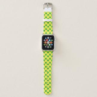 Bracelet Apple Watch Grenouilles mignonnes de bande dessinée