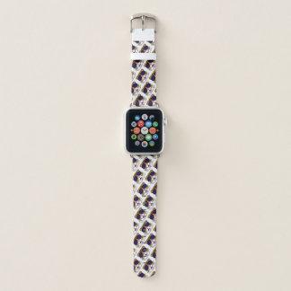 Bracelet Apple Watch Griffonnage de visage de tigre