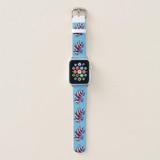 Bracelet Apple Watch Hérisson mignon géométrique abstrait coloré