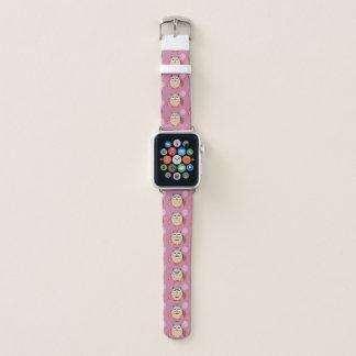 Bracelet Apple Watch Hibou d'anniversaire