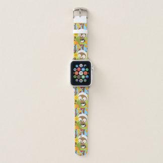 Bracelet Apple Watch Hibou de thanksgiving - 1