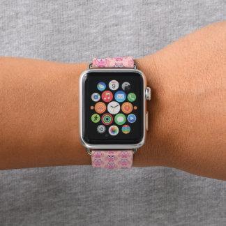 Bracelet Apple Watch Hibou mignon de message d'amour
