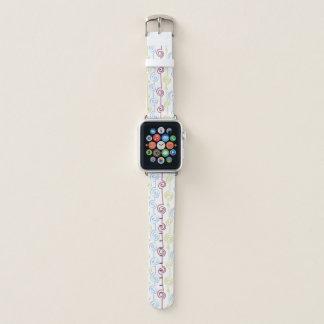 Bracelet Apple Watch Hippie génial en spirale tourbillonnant