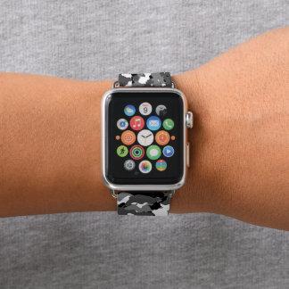 Bracelet Apple Watch Hiver arctique Camo