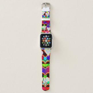 Bracelet Apple Watch Illusion des coeurs par Kenneth Yoncich