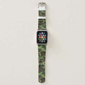Bracelet Apple Watch Jungle Camo vert
