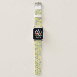 Bracelet Apple Watch La bande de montre d'Apple de citronnier