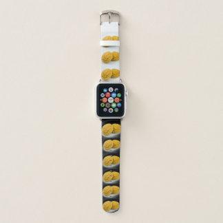 Bracelet Apple Watch la conception Apple de gâteaux de lune de 陰陽