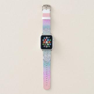 Bracelet Apple Watch La poussière d'étoile de parties scintillantes de