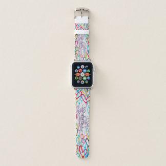 Bracelet Apple Watch L'amour est bande de montre d'Apple d'amour