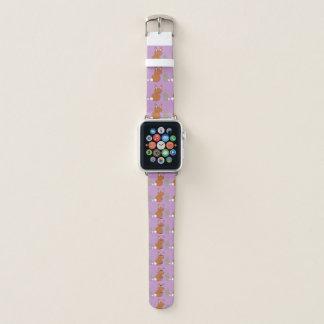 Bracelet Apple Watch Lapins de jour de mères