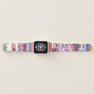 Bracelet Apple Watch Le bel été aime pour toujours des coeurs