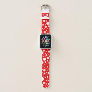 Bracelet Apple Watch Le champignon repère la bande de montre d'Apple