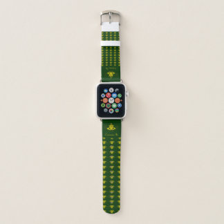 Bracelet Apple Watch Le Claddagh (or)