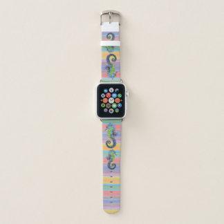 Bracelet Apple Watch Le coucher du soleil lumineux mignon colore