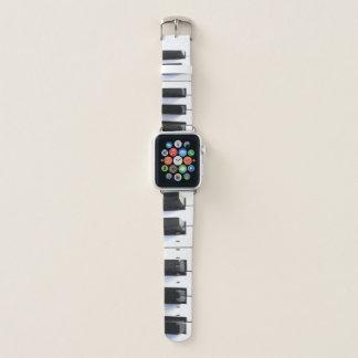 Bracelet Apple Watch Le piano verrouille la bande de montre d'Apple