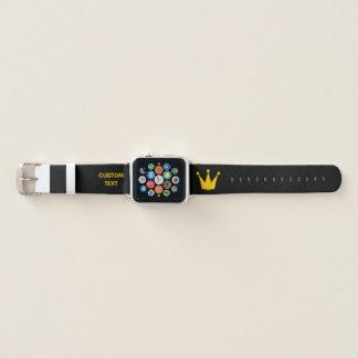 Bracelet Apple Watch Le Roi Crown de gril