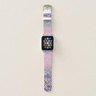 Bracelet Apple Watch Le rose sauvage et le bleu se sont fanés