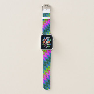 Bracelet Apple Watch Les bandes de montre d'Apple zigzaguent le G-24 de