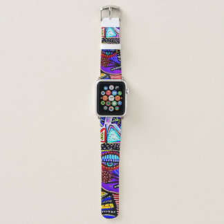 Bracelet Apple Watch Les chats Apple de fiesta observent la bande en