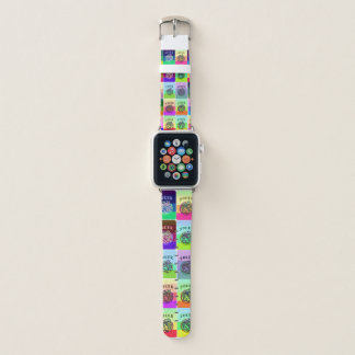 Bracelet Apple Watch Les jokers colorés Apple d'heure-milliampère Jongg
