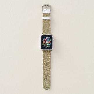 Bracelet Apple Watch Les parties scintillantes scintillantes Apple de