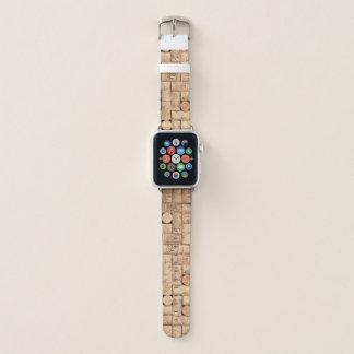Bracelet Apple Watch Lièges de vin