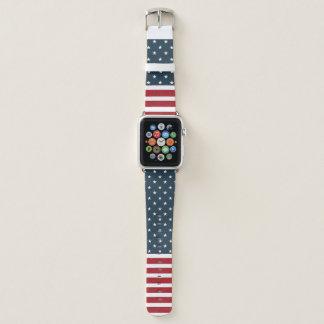 Bracelet Apple Watch L'indépendance bienvenue Apple observent la bande