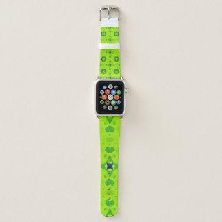 Bracelet Apple Watch Mandala bleu et vert 2