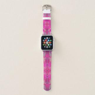Bracelet Apple Watch mandala rose