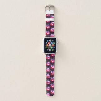 Bracelet Apple Watch Mathématicien mignon de caractère de sucrerie de