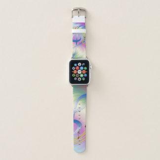 Bracelet Apple Watch Mélodie colorée de piano
