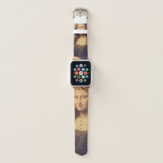 Bracelet Apple Watch Mona Lisa par Leonardo da Vinci