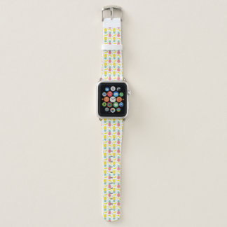 Bracelet Apple Watch Motif coloré de fruit tropical