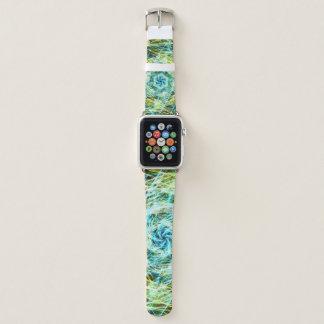 Bracelet Apple Watch Motif cosmique Trippy
