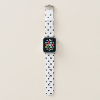 Bracelet Apple Watch Motif de chats d'aquarelle