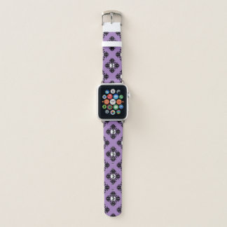 Bracelet Apple Watch Motif de crâne de Halloween d'amusement