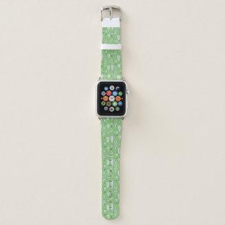 Bracelet Apple Watch Motif de crocodile de croquis