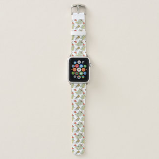 Bracelet Apple Watch Motif de croquis de fruit tropical