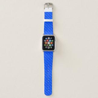 Bracelet Apple Watch Motif de papillon bleu par Kenneth Yoncich