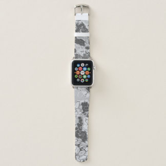 Bracelet Apple Watch motif de peau de serpent