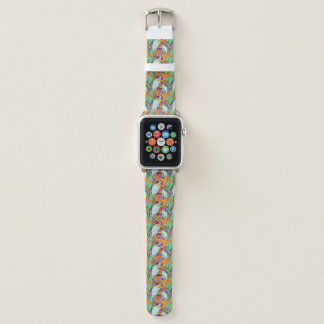 Bracelet Apple Watch Motif de Strelitzia