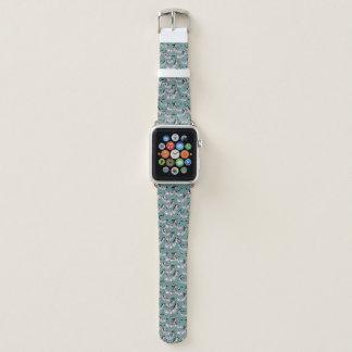 Bracelet Apple Watch Motif de zèbre