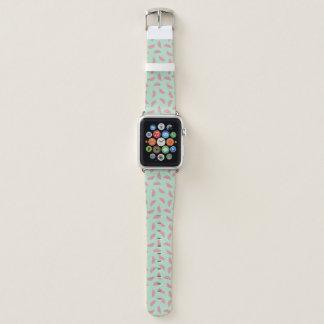 Bracelet Apple Watch Motif d'éclaboussure de peinture de fruit tropical
