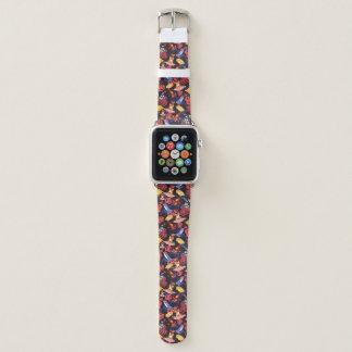 Bracelet Apple Watch Motif des grenouilles d'amants