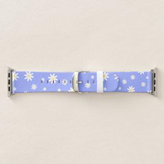 Bracelet Apple Watch Motif en pastel mignon et girly de marguerite