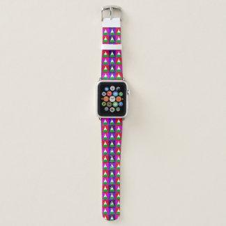 Bracelet Apple Watch Motif génial d'arbre de Noël