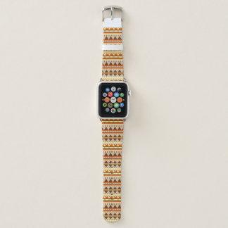 Bracelet Apple Watch Motif géométrique
