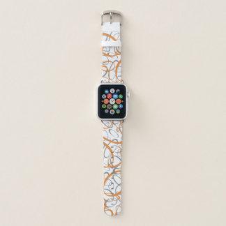 Bracelet Apple Watch motif géométrique dérangé de mod d'amusement
